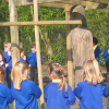 school praying jesus welcome