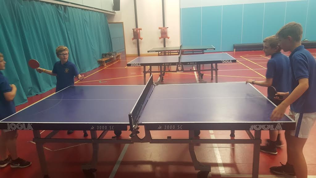 table tennis ted